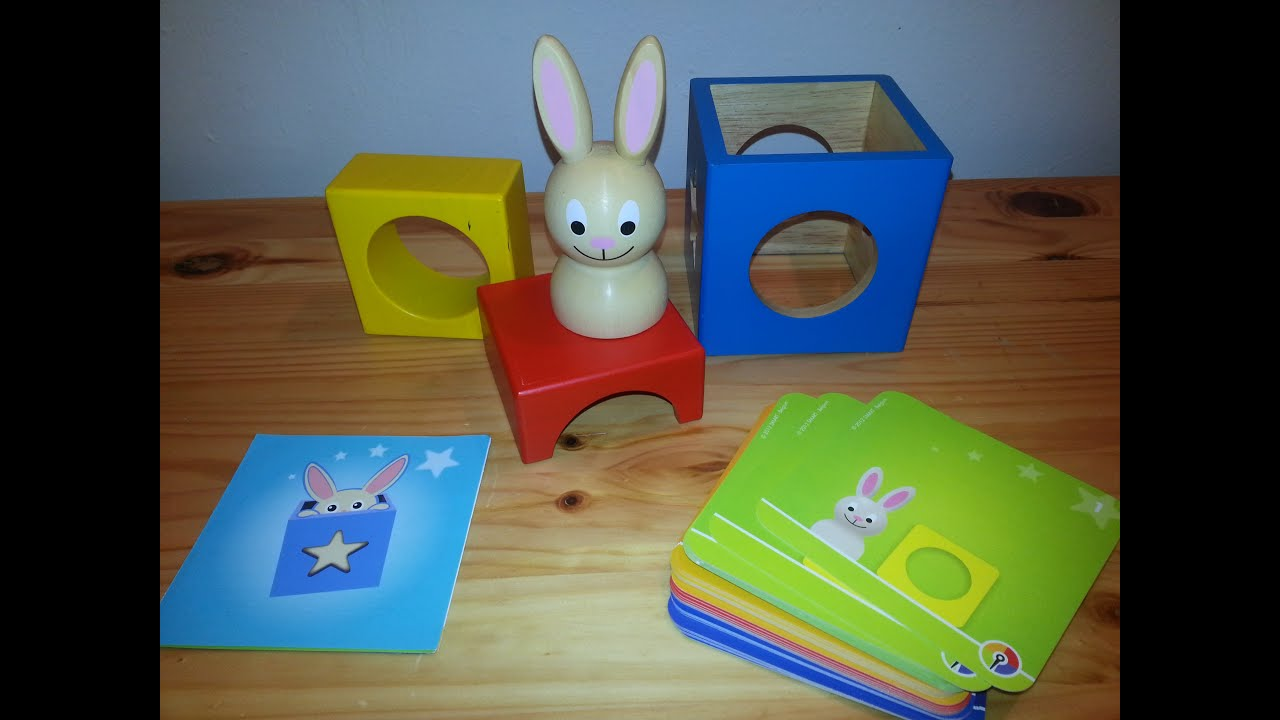 Bunny Peek A Boo Educational Toy Build Children IQ Smart Games
