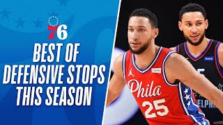 Ben Simmons' BEST Defensive Stops This Season So Far!