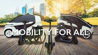 歩行領域EV | すべての人に移動の自由を | Toyota