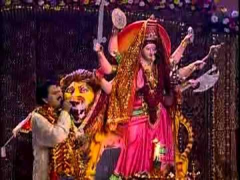 Maiya Ke Mahima By Bharat Sharma Vyas Bhojpuri Bhakti Song from Singhaar Jagdamba Ke.flv