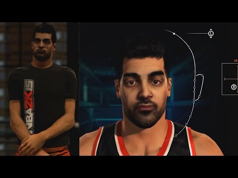 NBA 2K15 Facial Scanning for My Career!