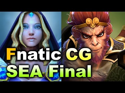 Fnatic vs Clutch Gamers - SEA Quals FINAL - ZOTAC Cup Masters DOTA 2