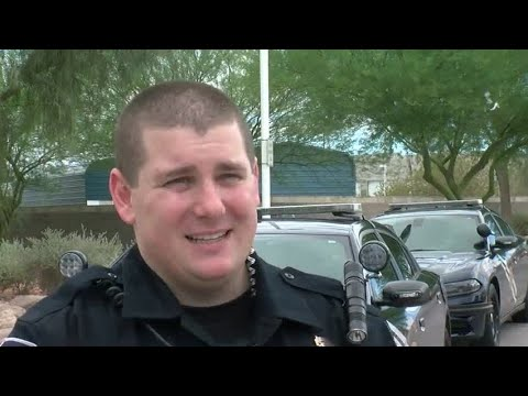Nevada Highway Patrol trooper recalls saving woman on Las Vegas freeway