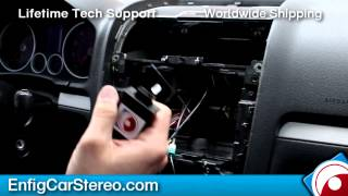 Radio installation Jetta Passat Rabbit 2006-2010