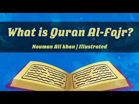 What is Quran Al-Fajr?