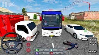 Bus Simulator Indonesia CRAZY DRIVER! 😂#8 - Bus Game Android gameplay #busgames