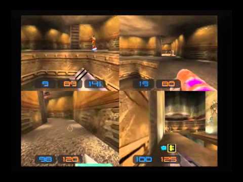 Sega Dreamcast по-русски: Quake 3 - 4 player deathmatch