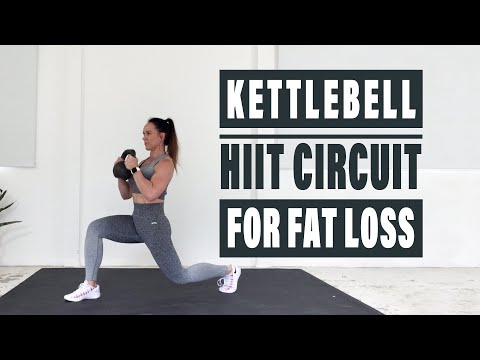 KETTLEBELL HIIT CIRCUIT FOR FAT LOSS 30 Minute Full Body Workout