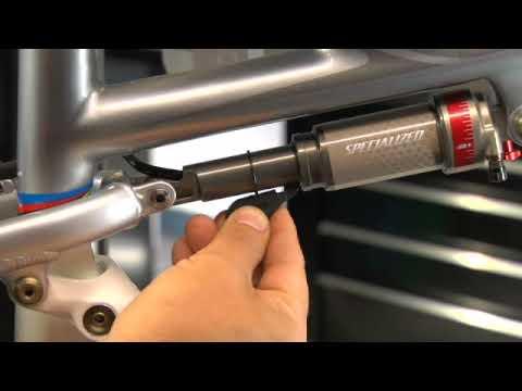 Bike Tune Up >> 2009 Specialized Suspension Setup - Sag - YouTube