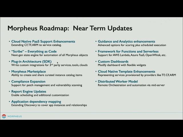 What's Next for Morpheus Data