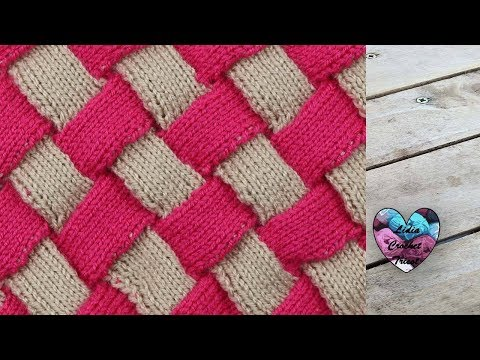Point Tricot Perles En Relief Lidia Crochet Tricot Youtube