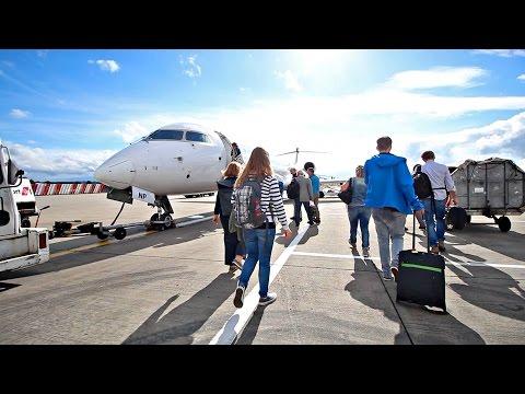 GLASGOW TO DÜSSELDORF - ON THE WAY BACK TO THAILAND - SCOTLAND TRIP