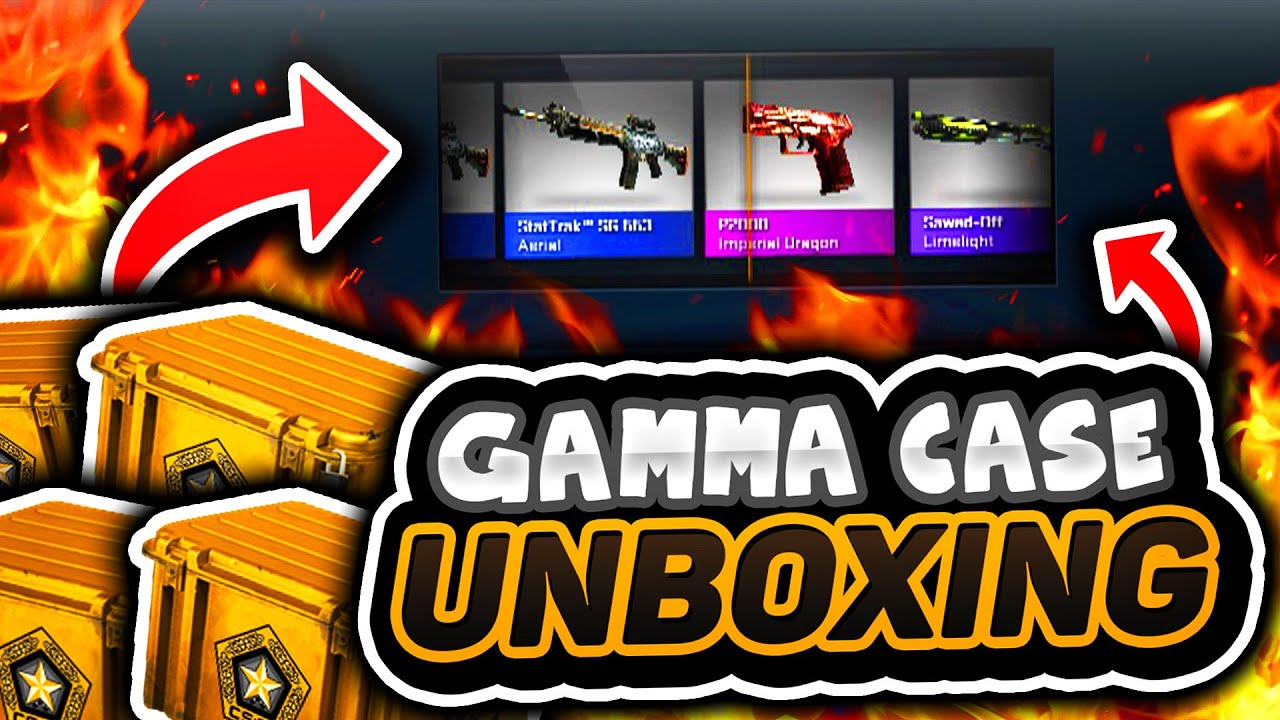 gamma case opening cs go gamma case unboxing youtube