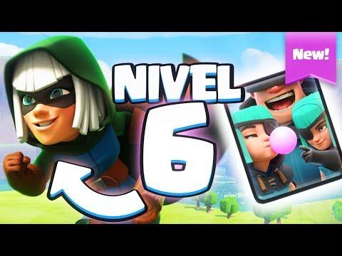 USANDO LEGENDARIAS A NIVEL 6 Y NUEVA CARTA | Clash Royale