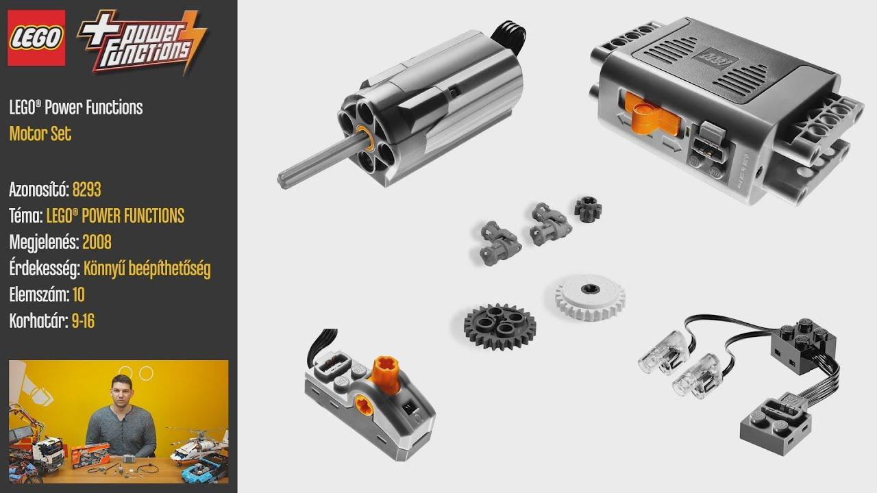 LEGO 8293 - LEGO Power Functions Motor Set - Videó bemutató. LEGO Store  Budapest 46873fabf2