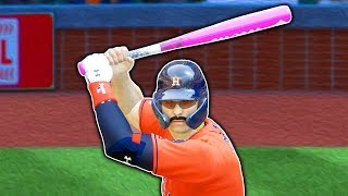 MY BAT IS PINK! MLB The Show 19 | Road To The Show Gameplay #64