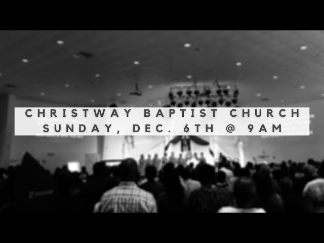 Christway Dec. 6   Speaking Without Knowledge