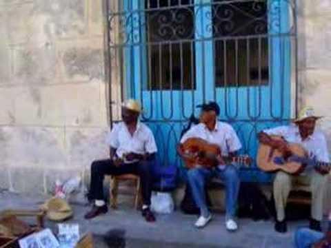 Músicos de la Calle en Cuba.