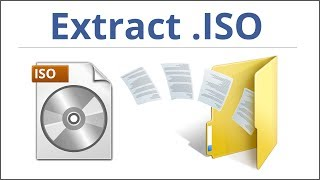 What Is An ISO File And How To Extract It? 1 Min. Software Tutorial - HD