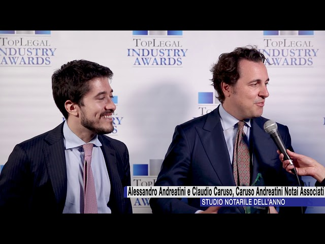 Caruso Andreatini Notai Associati - TopLegal Industry Awards 2018