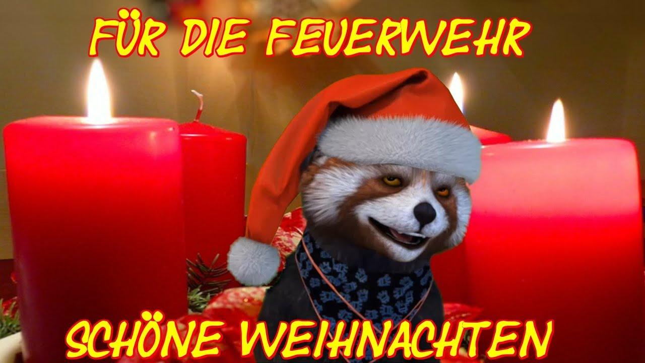 euch der feuerwehr eine sch ne weihnachtszeit weihnachten advent christmas facerig deutsch