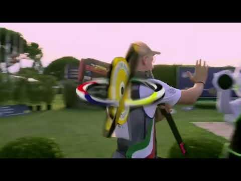 2019 European Championship Shotgun, Lonato Del Garda, Italy - Trap Mixed Team Junior Final