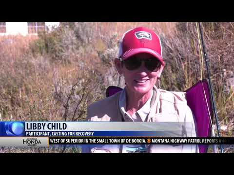Breast Cancer Survivors Find Healing Through Fly Fishing
