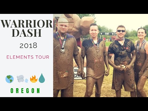 What Its Like To RUN The Warrior Dash | 5K | FULL RACE COURSE | GO PRO 5