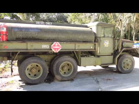 110 Video 1 of Military Fuel Truck for Auction