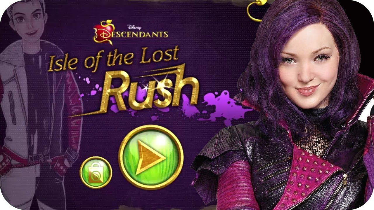 Disney Channel Games Descendants Isle Of The Lost Rush