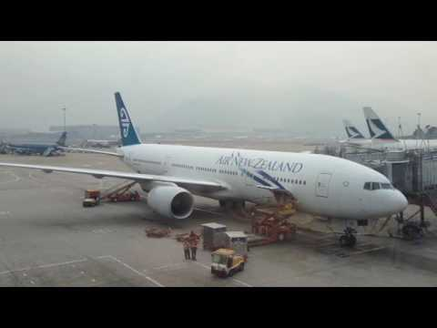 AIRLINE TRAVEL & AIRPORTS: Plane Spotting at Hong Kong Chek Lap Kok Airport