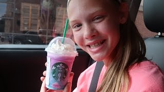 UNICORN FRAPPUCCINO from Starbucks TASTE TEST!