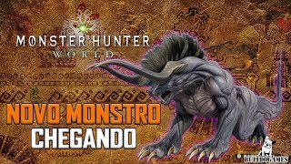 Monster Hunter World - NOVO MONSTRO ESTÁ CHEGANDO - Behemoth Final Fantasy