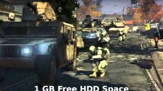 Homefront Fire Sale Map PC Requirements & Minumum Requirements