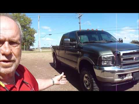 2003 Ford F250 King Ranch FX4 4wd Test Drive