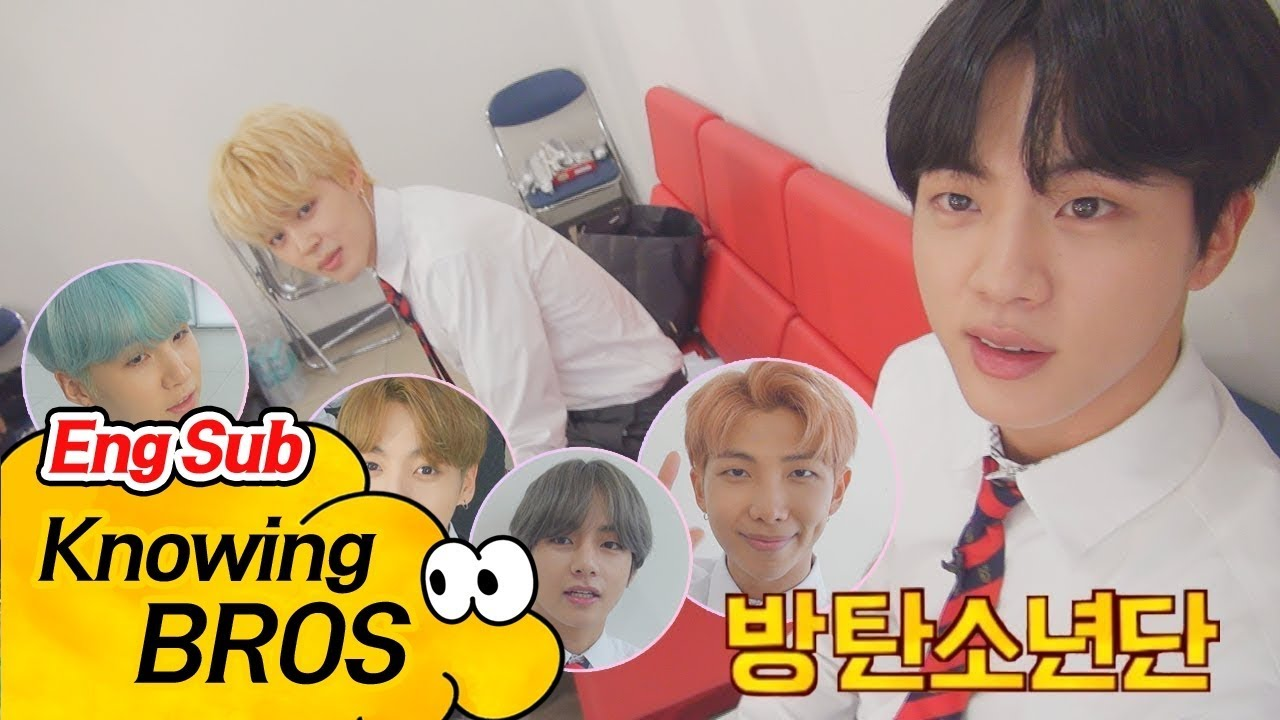 BTS releases behind the scenes on Knowing Brothers - Ulzzang