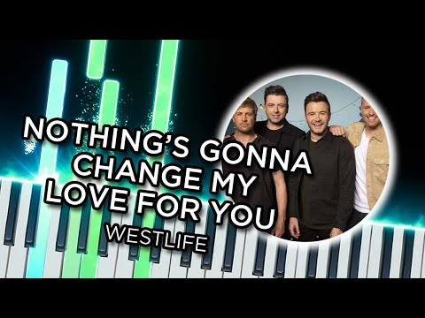 Nothing's Gonna Change my Love for You (Westlife) - Piano tutorial