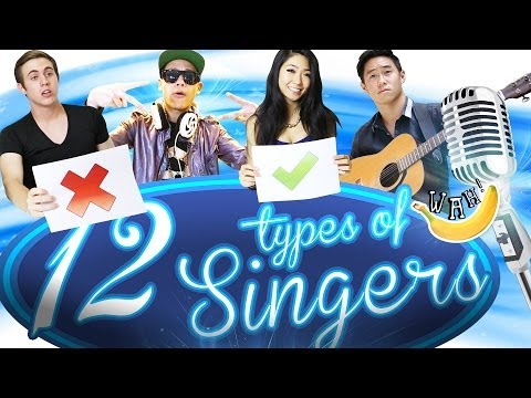 12 Types of Singers