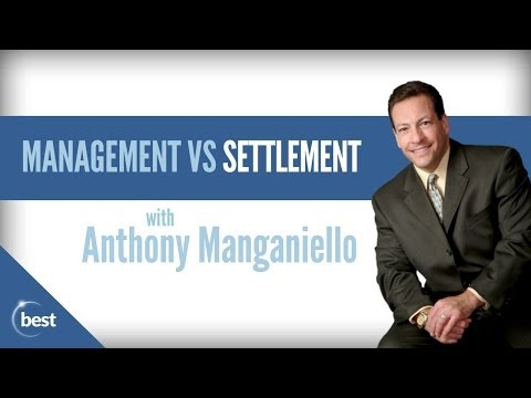 Debt Management vs Debt Settlement