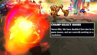 This is why Sion got DISABLED! (and Nunu should be too!)