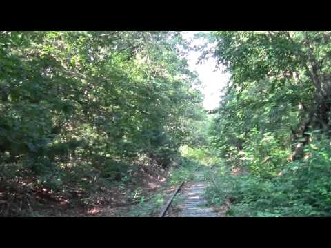 Bay Colony Railroad : Needham MA High Rock Town Forest Part 1.