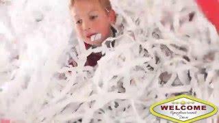 Бумажное шоу на детский праздник в Ростове на Дону