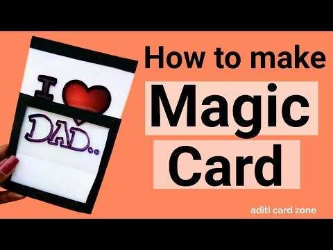 Magic Card Tutorial | DIY Magic Card | Friendship day card ideas | Rakshabandhan card