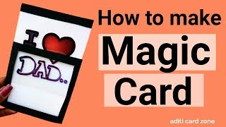 Magic Card Easy Tutorial | Diy Greeting Card Ideas | Teacher's Day Card |