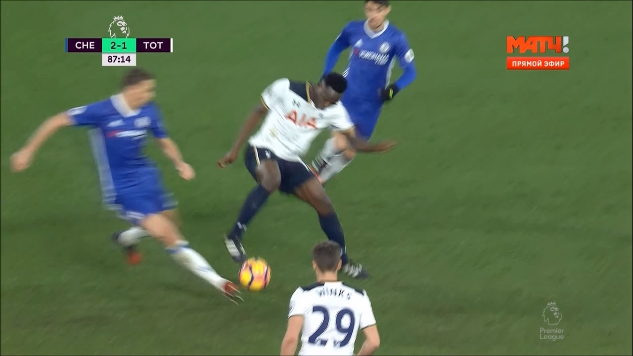 Victor Wanyama awesome roulette skill vs Chelsea 2016 2017