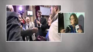 Video: Afectuoso homenaje al Señor de las Noticias