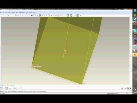 Operations on PRO-ENGINEER the design software from YouTube · High Definition · Duration:  9 minutes 25 seconds  · 43 views · uploaded on 7/2/2013 · uploaded by sandy sunny