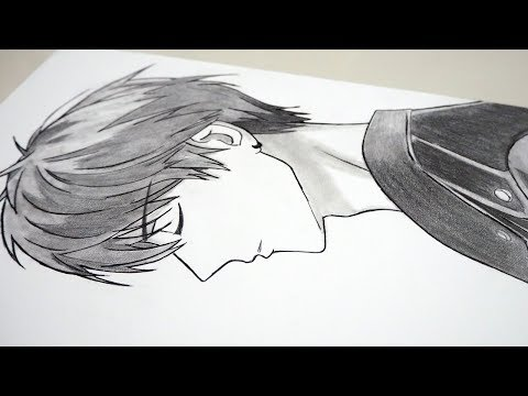 8 Steps To Draw Side View Anime Step By Step [Real Time Drawing]