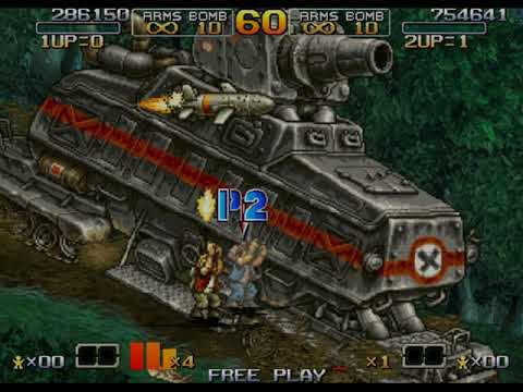 Metal Slug 6 Wii/arcade 2 player Netplay