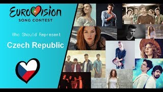 Eurovision song contest 2018 Who Should Represent Czech Republic